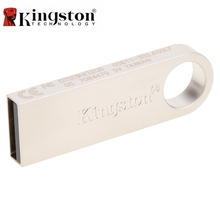 Kingston USB Flash Drive 2.0 8GB 16GB 32GB Metal Flash Drive Pen High Speed Pen Drive Flash Pendrive USB Stick Memory For PC