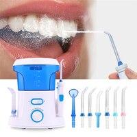 הלבנת שיני משטף הפה חוט משרתי שיניים Flosser מים שיניים כלים כוח איסוף מים שימוש בחוט דנטלי מכונת ארה