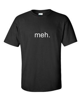 MEH. divertida camiseta de hombre sarcasmo friki regalo broma de ordenador