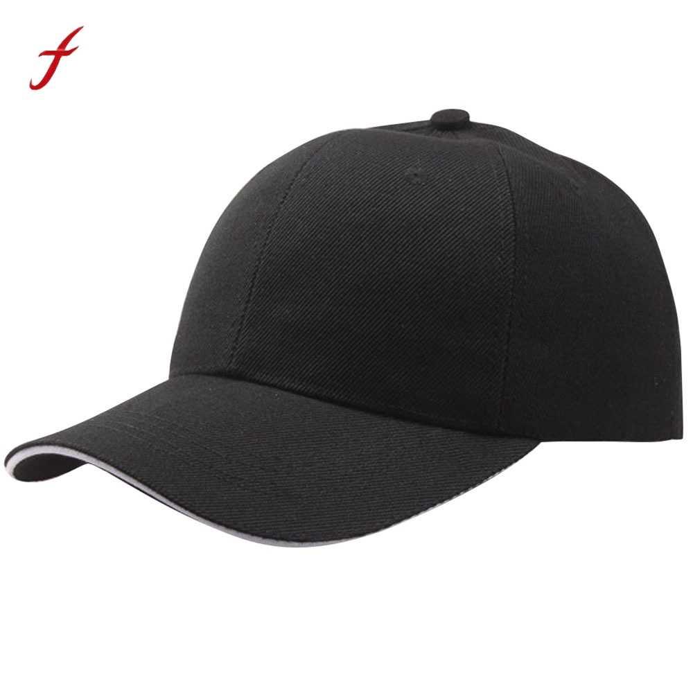 Lato moda Soild kobiety mężczyźni czapka z daszkiem czapka typu snapback HipHop regulowany fajny Sunhat casquette gorras najniższa cena