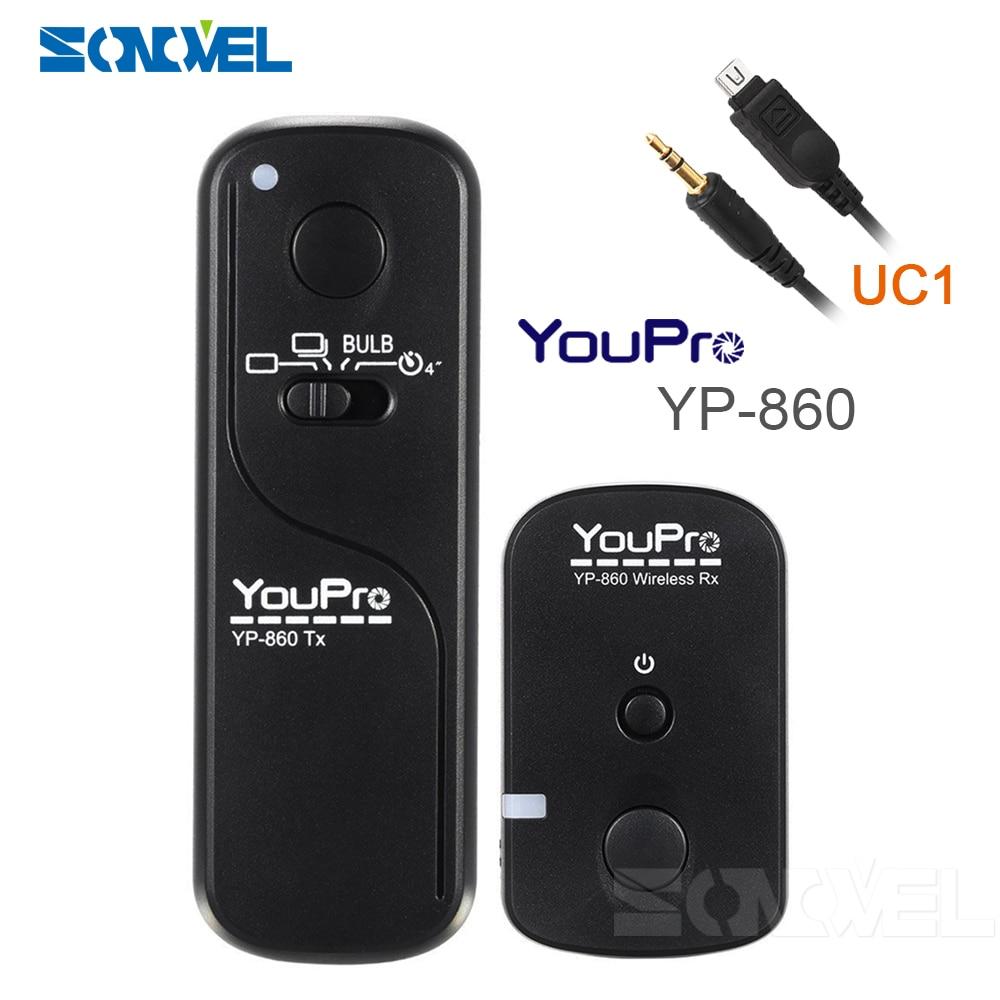 YouPro YP-860 UC1 Sans Fil Déclencheur À Distance Pour OLYMPUS EP2 EP3 EPL3 E-PL2 EPM1 XZ1 OM-D EM5 E620 E600 E550 E520 E510 E450