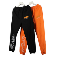 Heron Preston 19SS Style CTNNB Embroidery Letter Pants Hip Hop Summer Loose Sweatpants