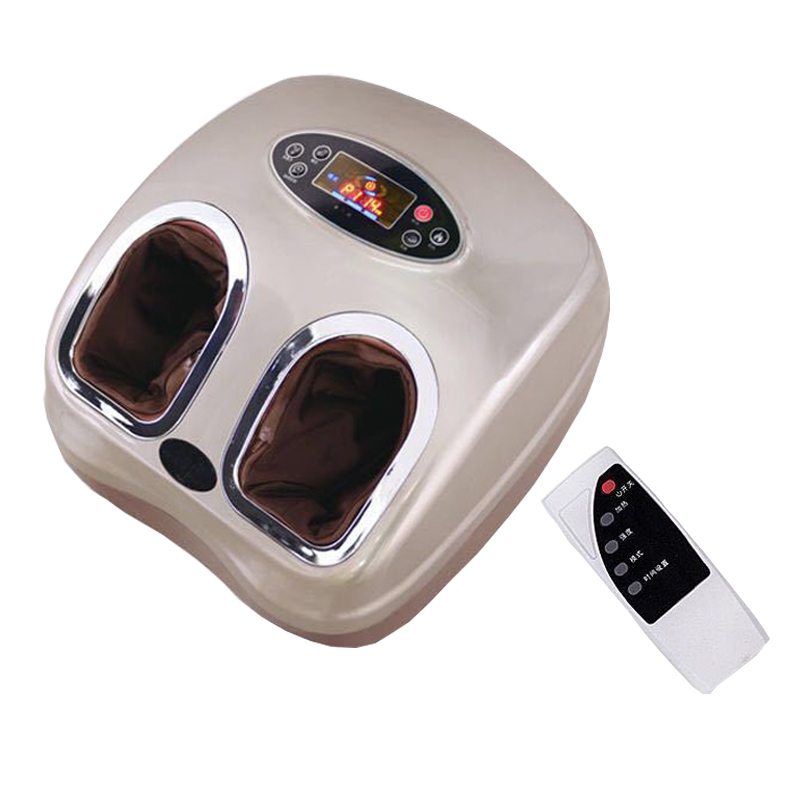 220V Electric foot massager electric machine For Health Care Personal Air Pressure Shiatsu Infrared Foot Massager 360 degress electric antistress foot massager vibrator foot health care heating therapy shiatsu kneading air pressure foot massage machine