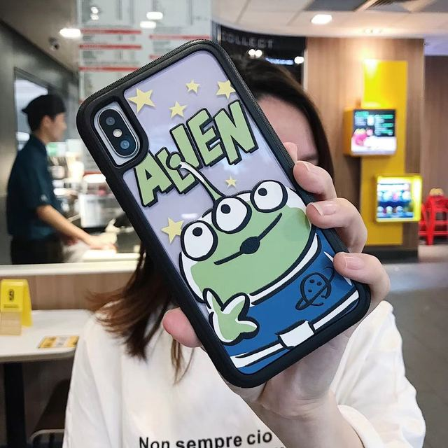 Cute Cartoon Sullivan Mike monsters Case For iPhone