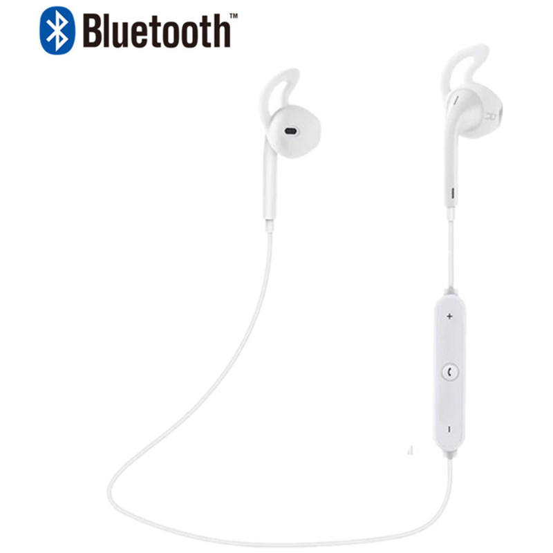 Stereo Bass Earbuds wireless earphone cordless headset Neckband bluetooth headphone bluetooth earphone with mic for iphone se 8