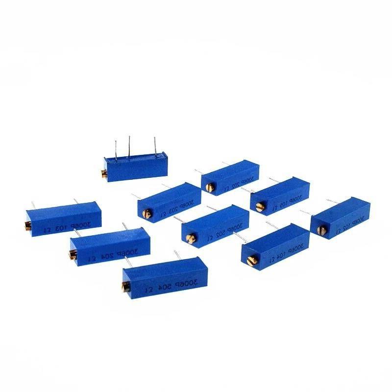 5 pz 3006 3006 p Potenziometro Resistori Variabili 101 102 103 104 105 201 202 203 204 501 502 503 504 Connettori