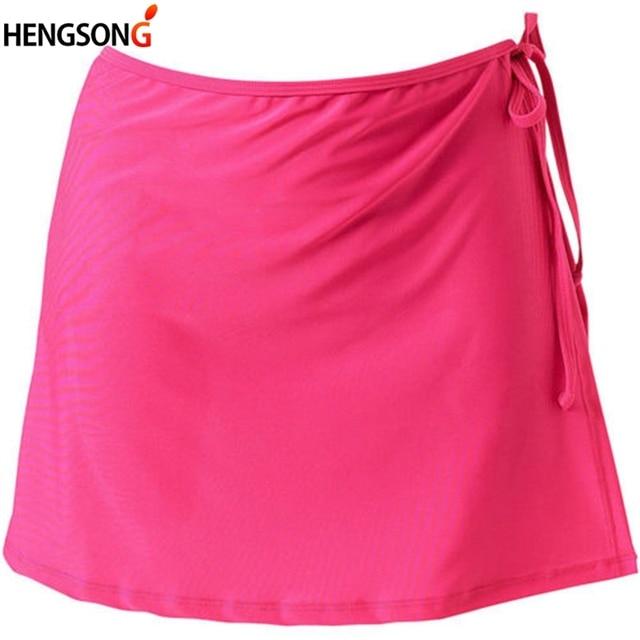 2192c2308 € 2.83 38% de DESCUENTO Aliexpress.com: Comprar Mujer deportes niñas faldas  de cintura alta línea Mini falda de tenis Yoga falda de encaje venda ...