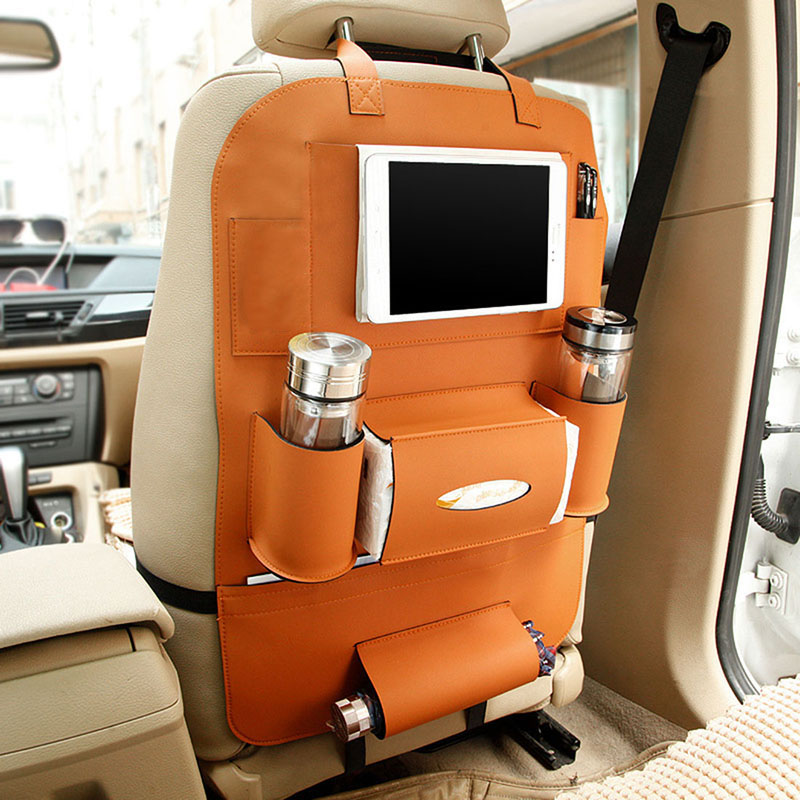 Kids Car Organizer Baby Car Seat Travel Bag Baby IPad Holder Hanging Bag Baby Auto Back Seat Car Storage Bags Stroller <font><b>Accessory</b></font>