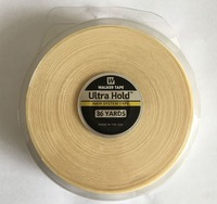 1 roll 2.54cm x 36 yards White Ultra Hold Double side tape lace front tape toupee tape