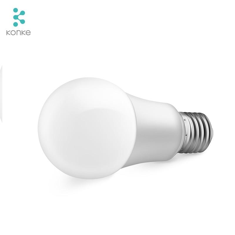Image 4 - Интеллектуальная WiFi лампа E27 сроки затемнения светодиодный свет лампы дистанционного Управление ЕС Стандартный работает с Amazon Alexa и Google Assistant-in Автоматические модули для дома from Бытовая электроника