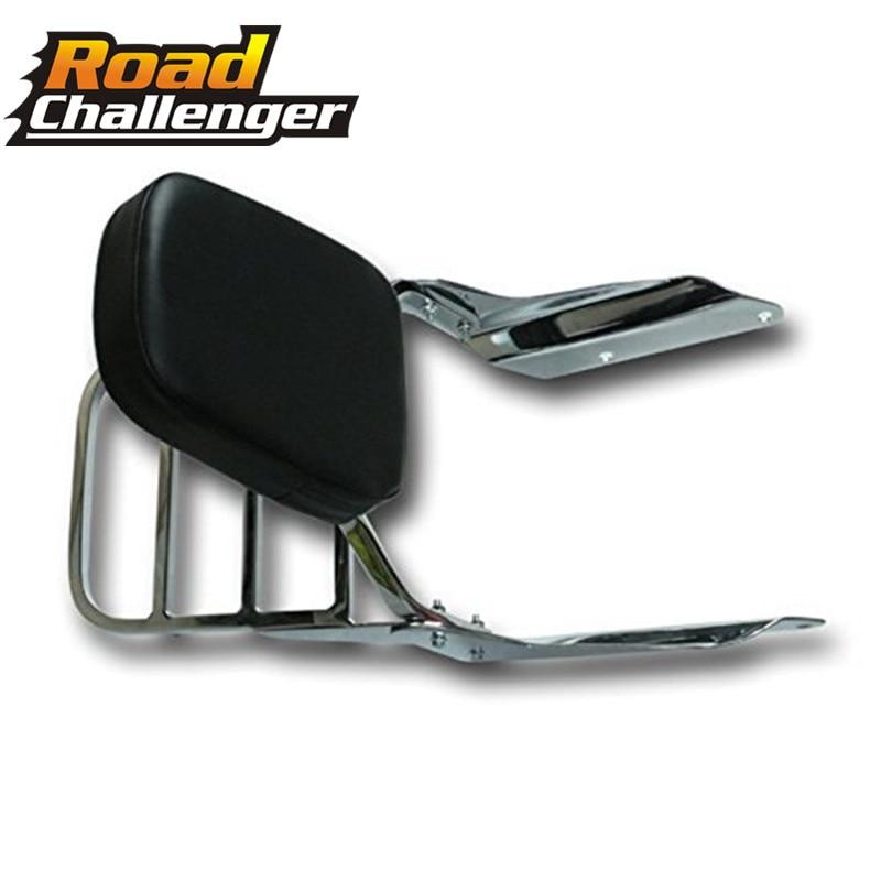 Rear Luggage Rack Support Sissy Bar Motorcycle Sissy Bar Backrest Pad  For Honda Magna 250/750 VF250 VF750