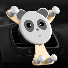 Cartoon Car Phone Holder Smartphone Mobile Phone Stand Universal Automobiles Air