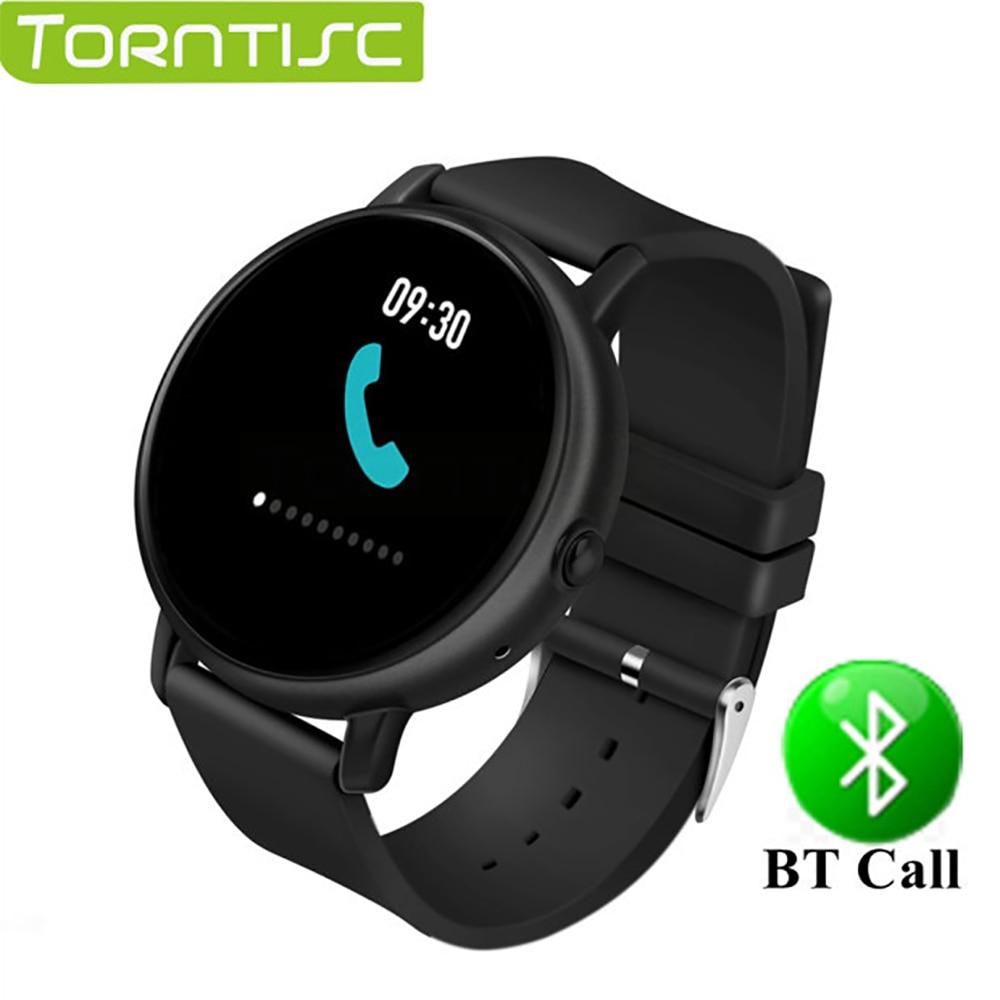Torntisc Touch Screen 2 5D Smart Watch Men Heart Rate Monitor IP67 Waterproof Bluetooth Call Smartwatch