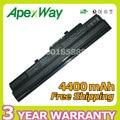 Apexway Black 6 cells Laptop Battery for MSI BTY-S11 BTY-S12 X100 for Akoya Mini E1210 Wind U100 U90 Wind12 U200 U210 U230