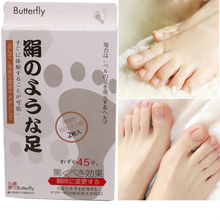 6bag=12pcs Moisture Foot Mask Renewal Remove Dead Skin Baby Foot Socks For Pedicure Exfoliating Feet Care Heels