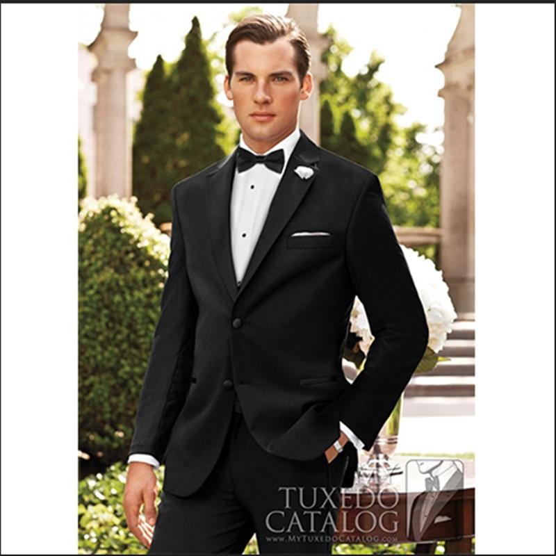 los hombres adelgazan los trajes de boda para 2019 traje a medida - Ropa de hombre