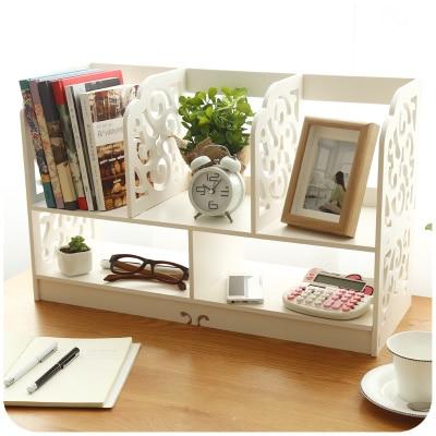 Europe Style Carved Wooden Storage Box Desk Organizer Diy Home Office Desktop Decorative Wood Book Shelf In Bo Bins From Garden On