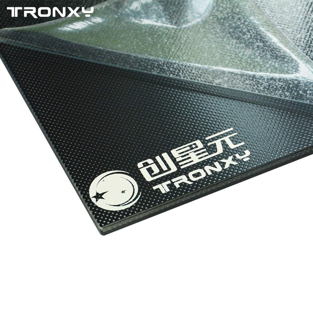 Piezas de la impresora Tronxy 3d placa de cristal 220*220/330mm 330 cama de calor Lattice vidrio Hotbed placa de construcción 3d impresión
