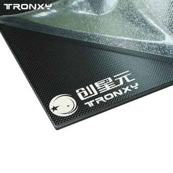 Tronxy 3d принтер Запчасти стеклянная пластина 220*220/330*330 мм Тепловая кровать решетка стеклянная Hotbed сборка пластина 3d печать