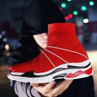 ZENVBNV New Men Black Socks Running Shoes Spring Summer Breathable Light Gym Walk Sneakers Comfortable Outdoor