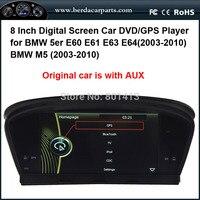 Car DVD GPS Player For BMW 5er E60 E61 E63 E64 2003 2010 BMW M5 2003