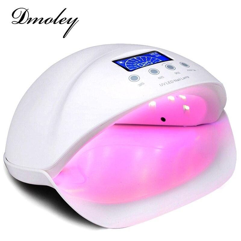 Dmoley Sun5se 50W/48W UV LED Lamp Nail Lamp 28 Leds Nail Dryer Manicure Tools Curing Nail Gel Polish Nail Tools Red Blue light