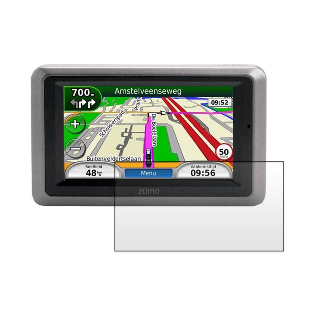 3x հակահայկական շող LCD էկրան պաշտպանիչ վահանի ֆիլմի համար Garmin Zumo 660 660LM 665 665LM GPS- ի համար