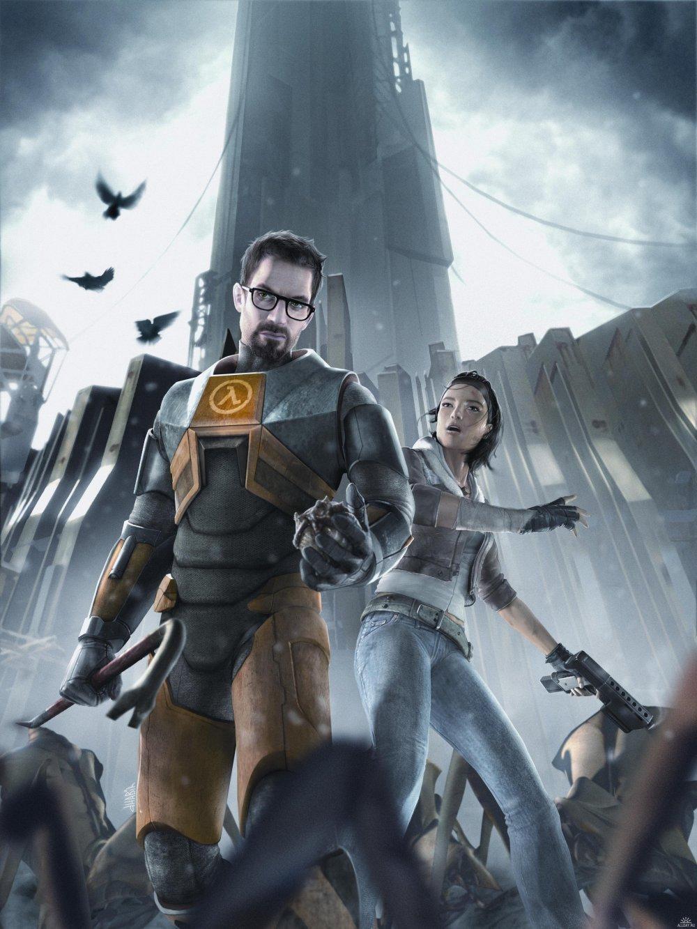 0105 Half Life 2 Dr Gordon Freeman Posters For Guys 16 X21