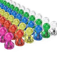 Полезная 10/30/60 шт Ассорти Цвет магнит на холодильник, декоративные наклейки магнитный съемник для жестких бирок для электронного отслеживания товара, идеальные магниты доски холодильник 30AP09