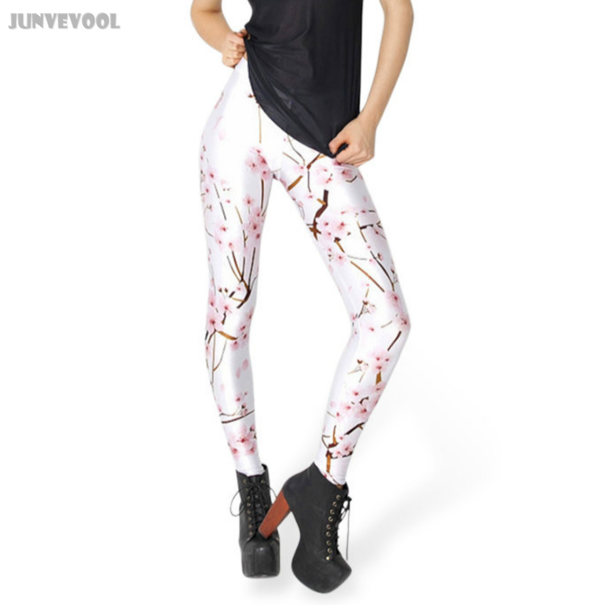 ③Mujeres entrenamientos Pantalones Pink Plum digital impreso ...