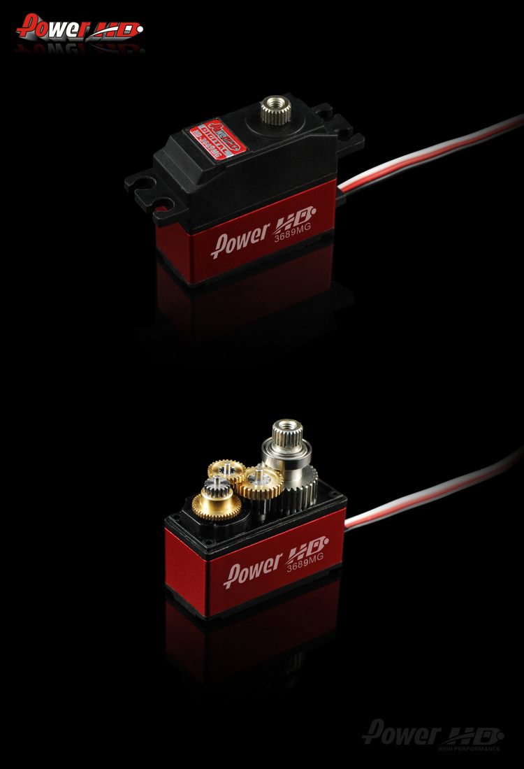 Power HD-3689MG Compatible with ADT 500L Helicopter Swashplate Actuator Robot Manipulator Single Chip Microcomputer twinlab twinlab l ornithine 500 mg 100