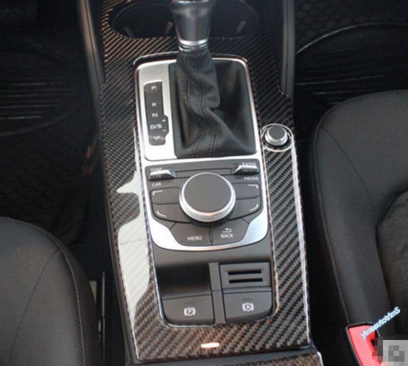 Көміртекті талшық! Audi A3 үшін 1 PCS 2014-2017 - Автокөліктің ішкі керек-жарақтары - фото 6