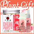 Planta de regalo de navidad establece bulgarian rose aceite esencial de salud cuidado de la piel, Hydrolat, rosa de Té de Blanqueamiento quitar hidratante