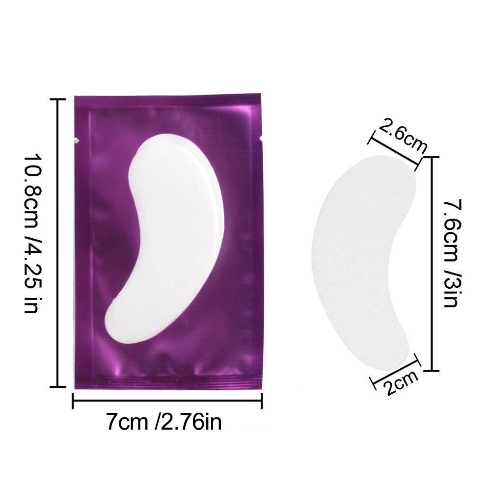 Remendo do Olho Pares/pacote Cílios do Olho Eye