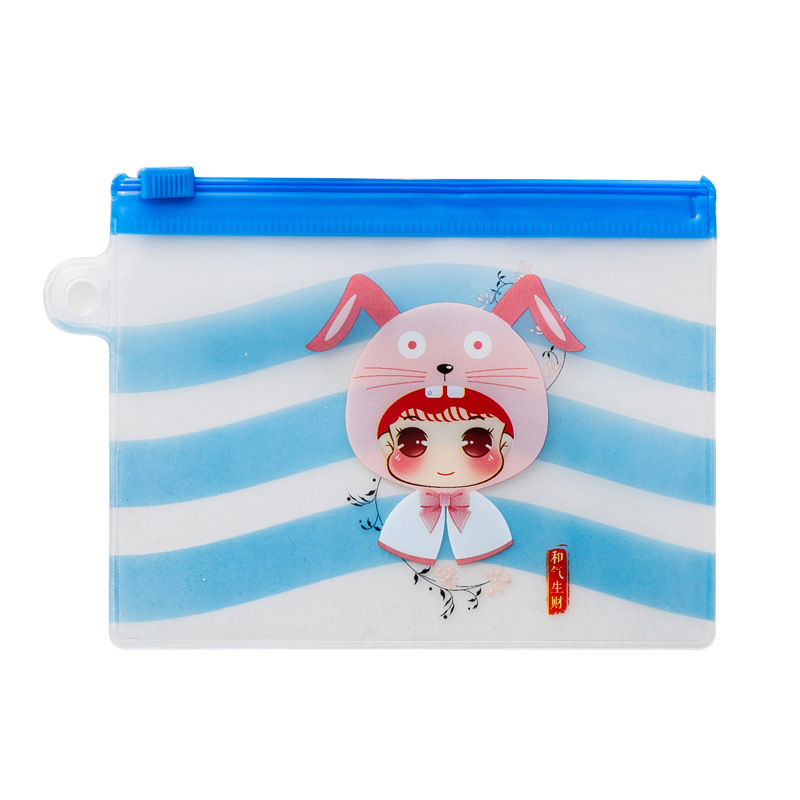 New Cartoon Mini Women Purse Coin Holder Wallet Money Bags Plastic Coin Key Card Wallet Zipper Change Case Purses Girl