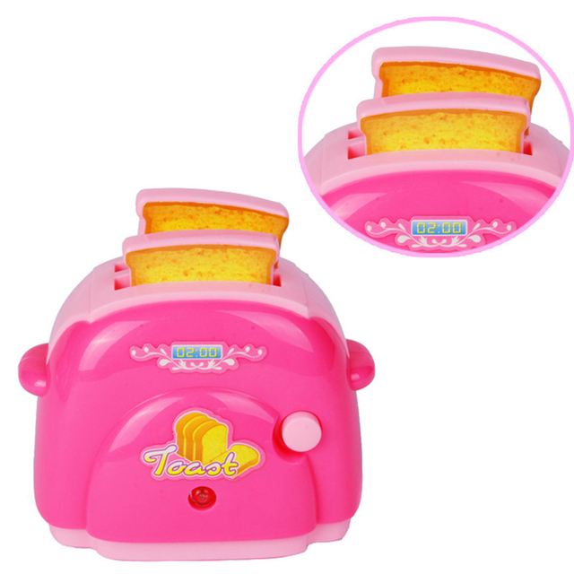High Quality Mini Toaster Clic Toys Pretend Play Home Lication Furniture Toy Kitchen For Baby