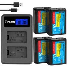 Batería para cámara SONY NP FW50 NP FW50 + cargador Dual USB LCD para Sony Alpha a6500 a6300 a6000 a5000 a3000 NEX 3 a7R a7S NEX 7