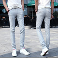 2016 spring and summer cotton casual pants men pants men's casual linen pants Slim trousers feet