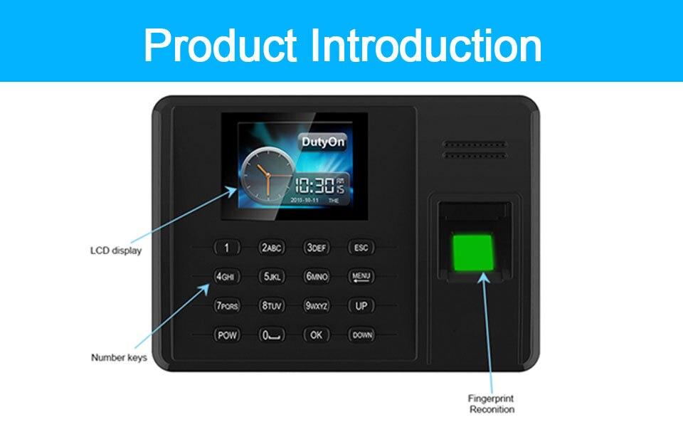HTB1N0wuXNrvK1RjSszeq6yObFXaP Eseye Attendance System Fingerprint TCPIP USB Password Office Time Clock Employee Recorder Device Biometric Time Attendance