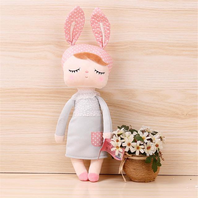 34cm Doll Stuffed Toys for Boys Girls Kawaii Baby Angela Soft Bunny Dolls Stuffed Animal Plush Toy For Kids Christmas birthday
