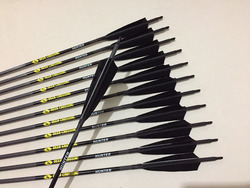 12pcs lot carbon arrow spine500 id6 2 with 5 turkey fletching feather arrow point for traditional.jpg 250x250