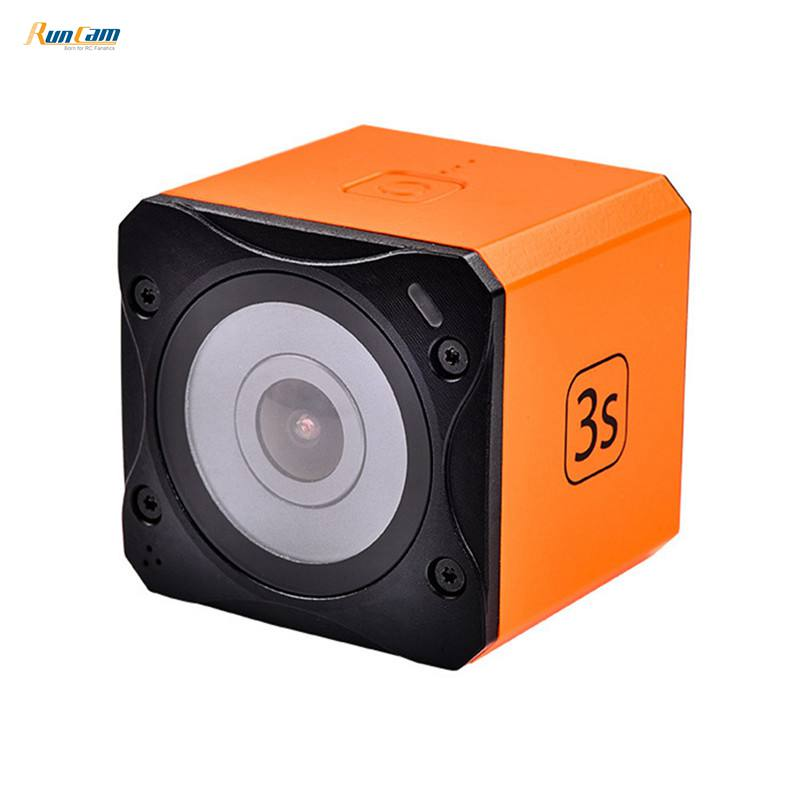 Runcam 3S Runcam3S WIFI 1080p 60fps WDR 160 Degree FPV Action Camera Detachable Battery for RC