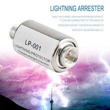 Протектор освещения коаксиальный спутниковый ТВ молниезащитные устройства спутниковая антенна молниеотвод 5-2150 МГц