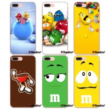 Cute M&M's Chocolate Nutella Bottle Case For iPhone X 4 4S 5 5S 5C SE 6 6S 7 8 Plus Samsung Galaxy J1 J3 J5 J7 A3 A5 2016 2017(China)