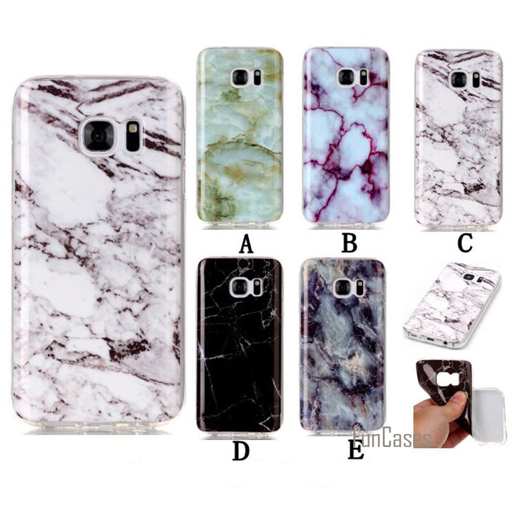 For Samsung Galaxy S7 Case Marble Dirt Resistant Soft TPU Back Protective Phone Bags Cases For Galaxy S7 G9300 Jungfrau Lucky