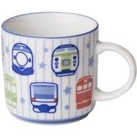 Çocuk karikatür tren seramik kupa kahvaltı kahve fincan Çiftler Kupası Ofis