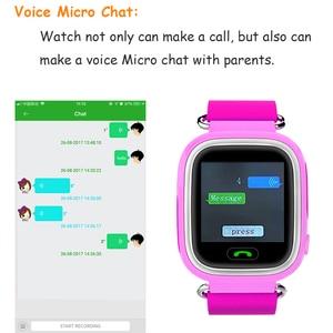 Image 4 - Q90 ساعة أطفال مزودة بنظام GPS ساعة ذكية للأطفال للأطفال ساعة Wmart الطفل على مدار الساعة مع موقع SOS دعوة أداة تتبع PK Q528 Q100
