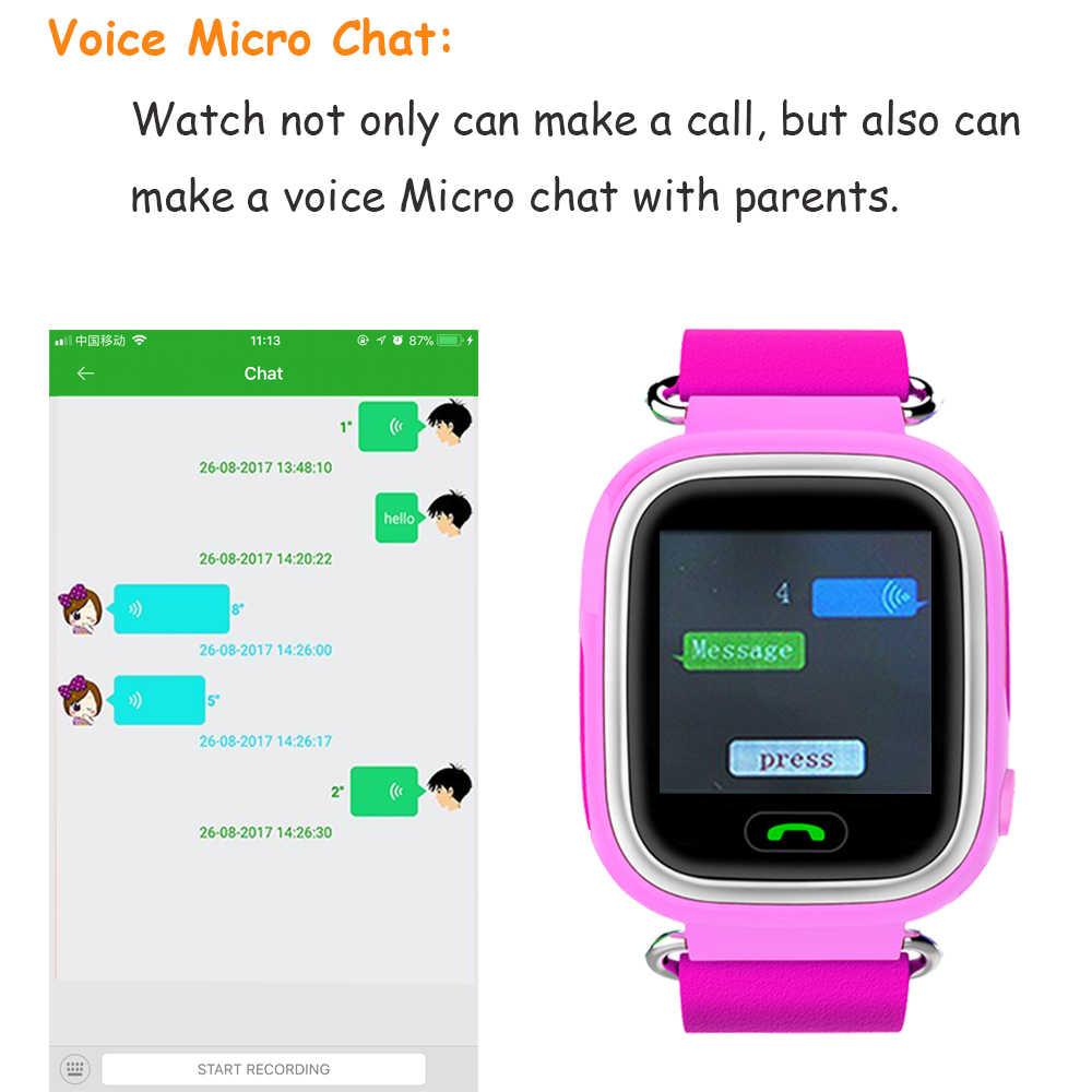 Q90 Kids GPS Watch Smart Baby Watch for Children Watch Wmart Child Clock with WIFI Location SOS Call Tracker Device PK Q528 Q100
