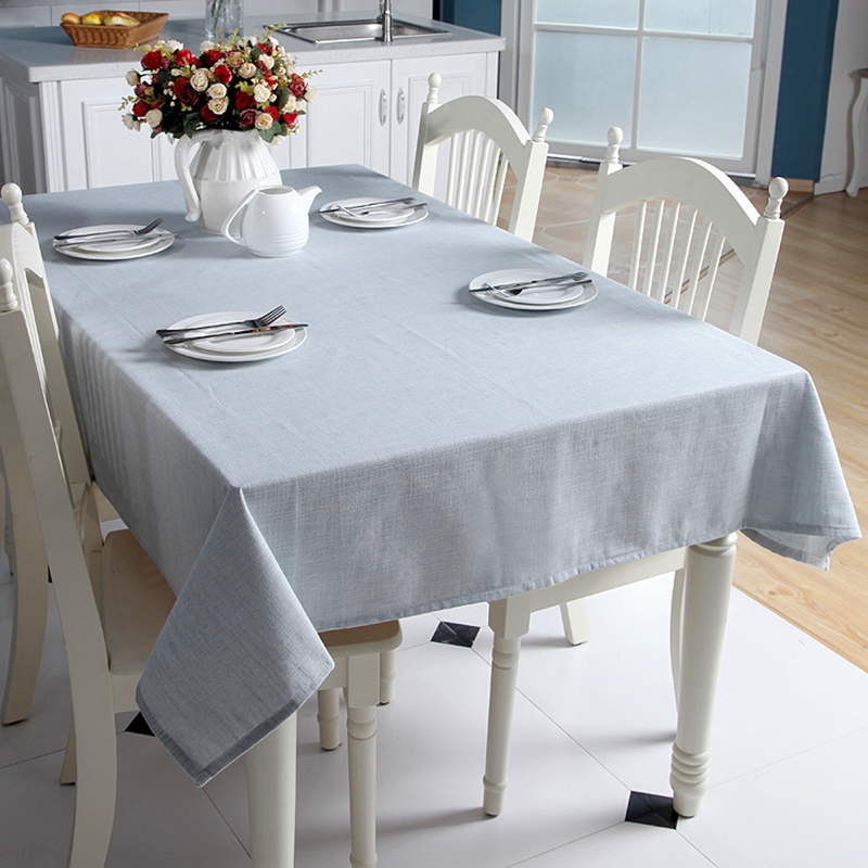 Beau Solid Color Cotton Linen Tablecloths Japan Style Pastoral Tablecloth Plain  Table Cover For Desk Party Dining Table Home Decor In Tablecloths From Home  ...