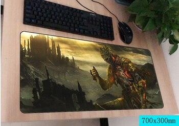 Dark souls коврик для мыши геймер 700x300 мм notbook коврик для мыши большой игровой коврик для мыши Большой коврик